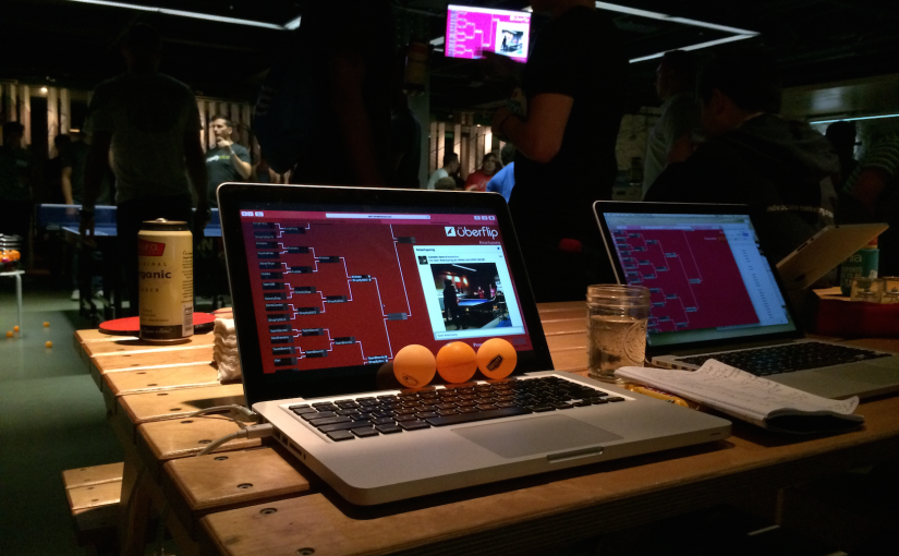 Uberflip's 2015 Tournament Bracket – #startupong2015 retrospect